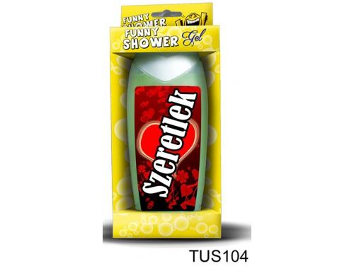 (TUS104) Tusfürdő 300 ml - Szeretlek – Szerelmes Ajándékok - Valentin Napi ajándékok