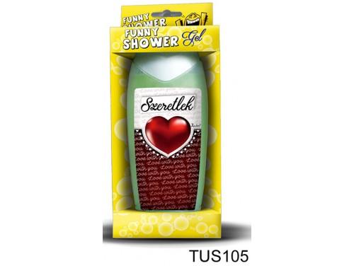 (TUS105) Tusfürdő 300 ml - Love with you – Szerelmes Ajándékok - Valentin Napi ajándékok