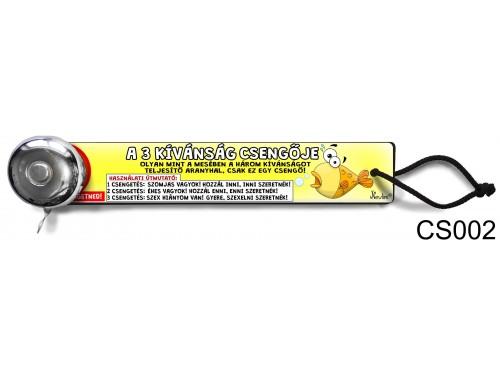 (CS002) Csengő - A 3 kívánság csengője  – Vicces ajándék