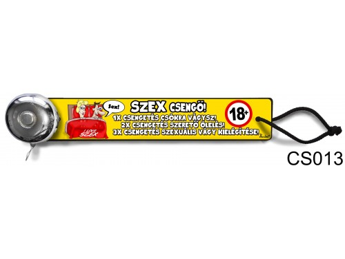(CS013) Csengő - Szex csengő – Vicces ajándék