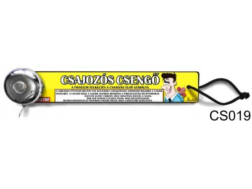 (CS019) Csengő - Csajozós csengő – Vicces ajándék
