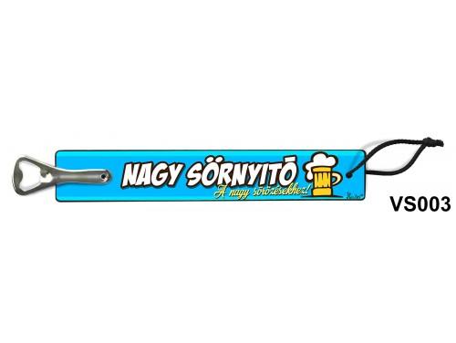 (VS003) Vicces sörnyitó -  Nagy sörnyitó – Vicces ajándék