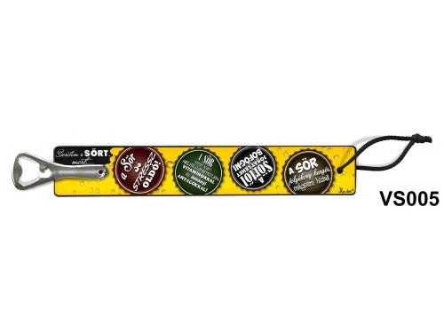 (VS005) Vicces sörnyitó - A sör – Vicces ajándék