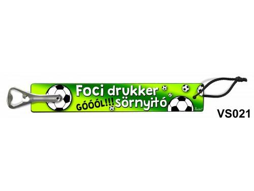 (VS021) Vicces sörnyitó - Foci drukker – Vicces ajándék
