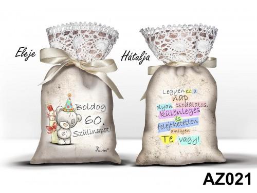 (AZ021) Álomzsák - Boldog 60. szülinapot - Ajándék ötletek 60. szülinapra