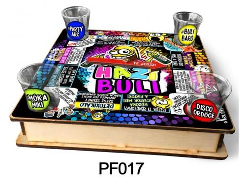 (PF017) Ivós társasjáték 18 cm x 18 cm - Házi Buli – Vicces Ajándékok