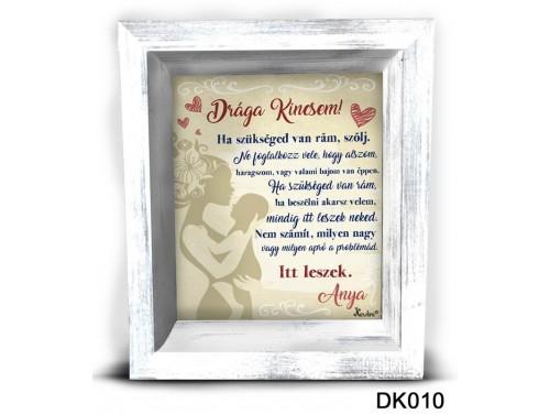 (DK010) 3D Képkeret 16,5 cm x 19,5 cm - Drága Kincsem - Ajándék Gyerekeknek