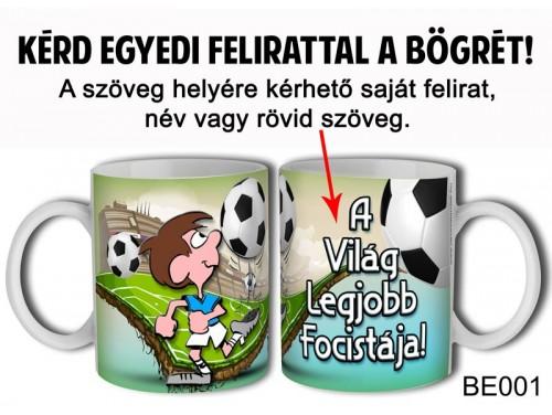(BE001) Bögre 3 dl - Focis - Focis Ajándék - Egyedi Feliratos Bögre