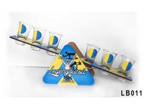 (LB011) Libikóka 30 cm x 9,5 cm - Legénybúcsú - Legénybúcsú ajándék ötletek