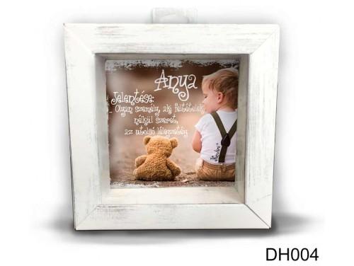 (DH004) Kicsi 3D Képkeret 11,2 cm x 11, 2 cm - Anya jelentése - Ajándék Anyáknak - Anyák napi ajándékok