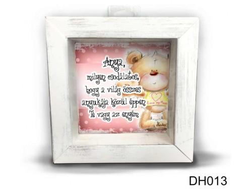 (DH013) Kicsi 3D Képkeret 11,2 cm x 11, 2 cm - Milyen csodálatos - Anyák napi ajándékok - Ajándék Anyáknak