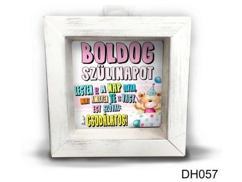 (DH057) Kicsi 3D Képkeret 11,2 cm x 11, 2 cm - Csodálatos női - Szülinapi Ajándékok - Ajándék Ötletek