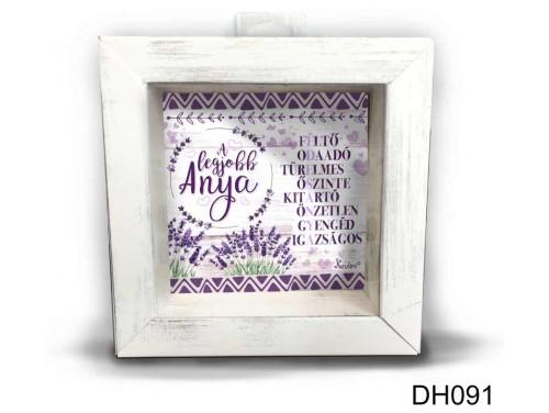(DH091) Kicsi 3D Képkeret 11,2 cm x 11, 2 cm - Édesanya - Anyák Napi Ajándékok - Ajándék Anyáknak