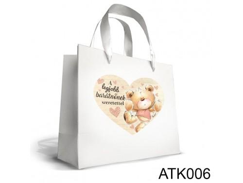 (ATK006) Kicsi Dísztasak 18cm x 21 cm - A legjobb barátnőnek - Ajándéktasakok - Ajándék Barátnőnek