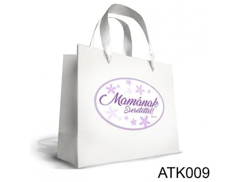(ATK009) Kicsi Dísztasak 18cm x 21cm - Mamának szeretettel - Ajándéktasakok - Ajándék Mamának