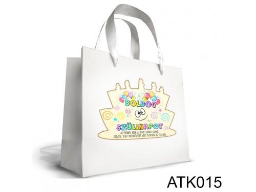 (ATK015) Kicsi Dísztasak 18cm x 21cm - Boldog Szülinapot - Ajándék Szülinapra