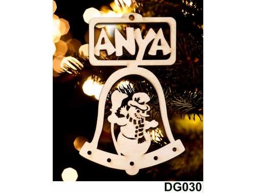 (DG030) Karácsonyi Díszgömb - Anya Csengő – Karácsonyfa díszek – Karácsonyi ajándék ötletek