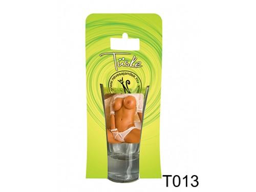 (T013) Vicces Pálinkás pohár 0,75 ml - Csaj -  Ajándék Férfiaknak