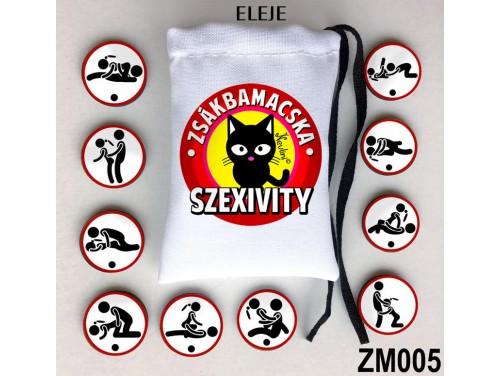 (ZM005) Zsákbamacska - Szexivity – Szexpózok