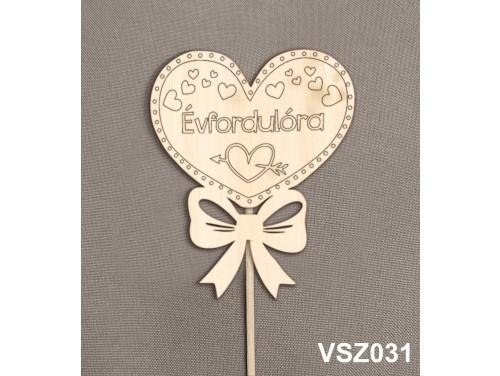 (VSZ031) Virág dekoráció 43 cm - Évfordulóra – Évfordulós Ajándék