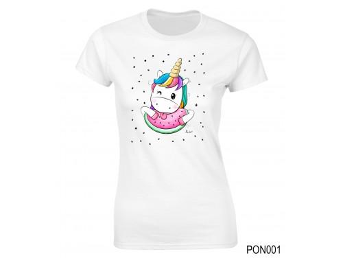 (PON001) Női póló - Dinnyés – Ajándék Ötletek Nőknek