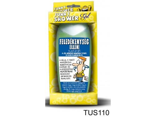 (TUS110) Tusfürdő 300 ml - Feledékenység elleni tusfürdő – Vicces ajándék