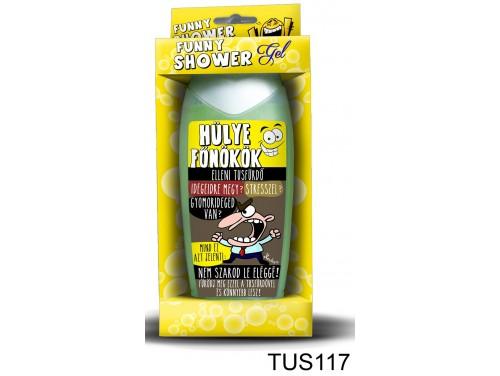 (TUS117) Tusfürdő 300 ml - Hülye főnök elleni – Vicces ajándék