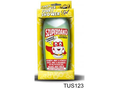 (TUS123) Tusfürdő 300 ml - Szuperdákó – Vicces ajándék