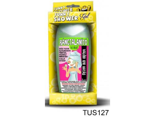 (TUS127) Tusfürdő 300 ml - Ránctalanító tusfürdő – Vicces szülinapi ajándék