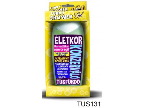 (TUS131) Tusfürdő 300 ml - Konzerváló tusfürdő – Vicces ajándék