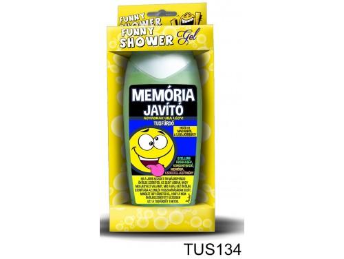 (TUS134) Tusfürdő 300 ml - Memória javító tusfürdő – Vicces ajándék