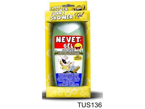 (TUS136) Tusfürdő 300 ml - Nevetgél – Vicces ajándék