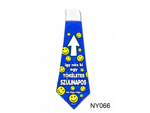 (NY066) Nyakkendő 37x13 cm - Tökéletes Szülinapos – Szülinapi ajándék ötletek