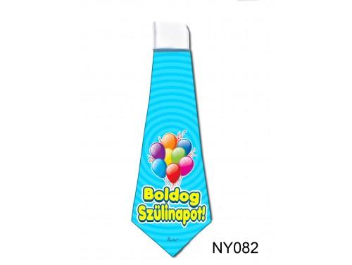 (NY082) Nyakkendő 37x13 cm - Boldog Szülinapot – Szülinapi ajándék ötletek