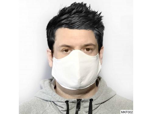 (MKF002) Szájmaszk Nagyobb méretű - Fehér szájmaszk