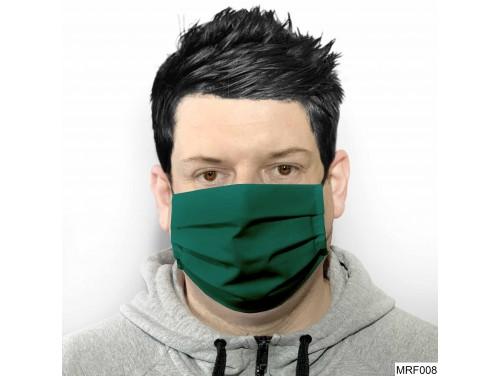 (MRF008) Szájmaszk redős - Zöld szájmaszk