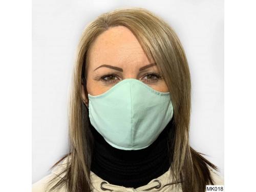 (MK018) Szájmaszk - Világos zöld szájmaszk