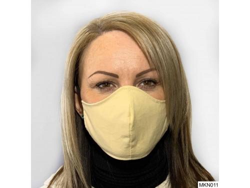 (MKN011) Szájmaszk - Pasztel sárga szájmaszk