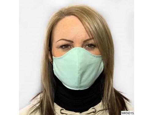 (MKN015) Szájmaszk - Világos zöld szájmaszk