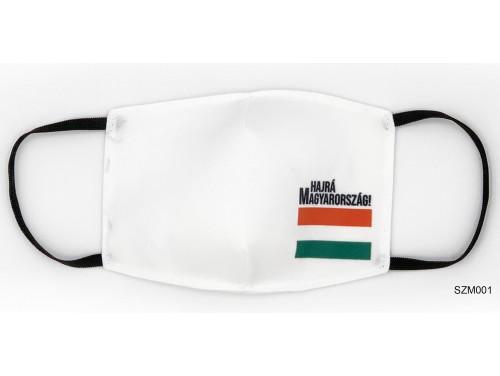 (SZM001) Szájmaszk - Hajrá Magyarország szájmaszk