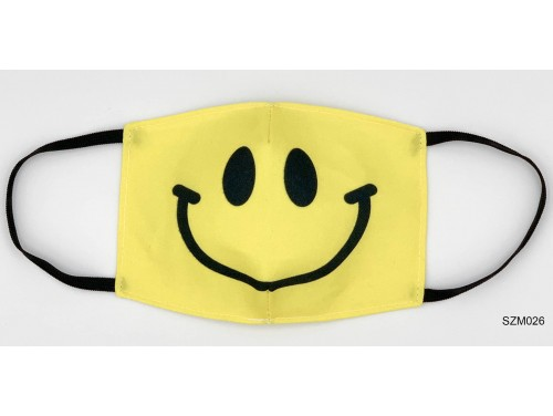 (SZM026) Szájmaszk - Smile fejes szájmaszk