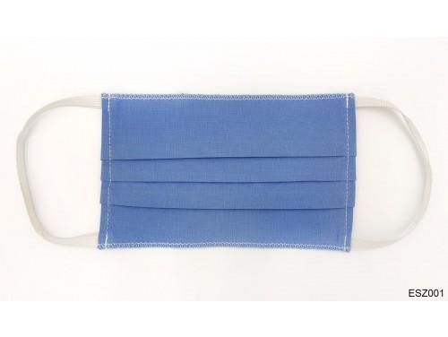 (ESZ001) Egészségügyi textil szájmaszk - Kék