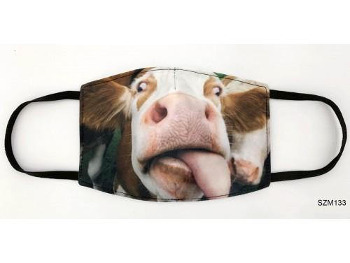 (SZM133) Szájmaszk - Bocis szájmaszk tehenes szájmaszk