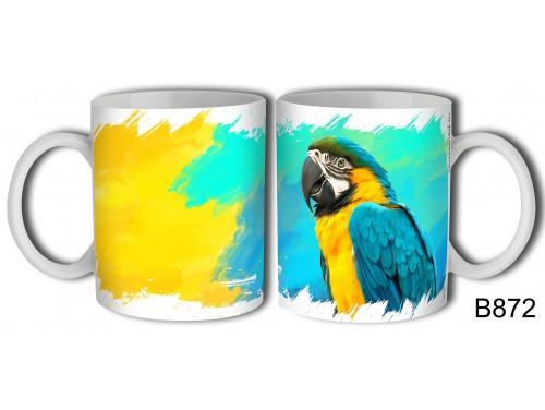 (B872) Bögre 3 dl - Papagájos Bögre – Papagájos Ajándék