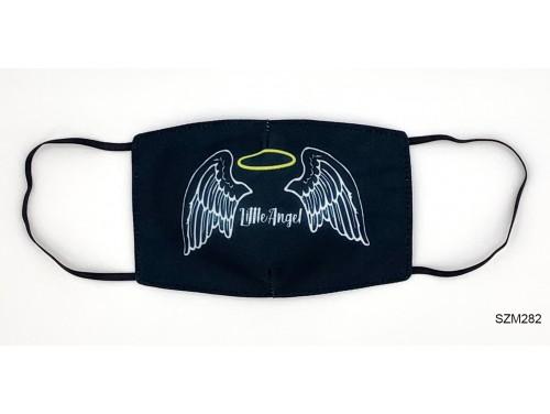 (SZM282) Szájmaszk - Little Angel angyal mintás szájmaszk