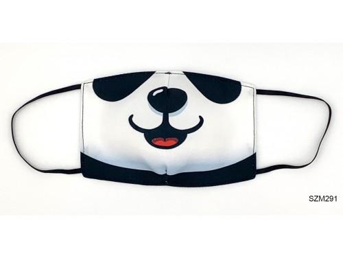 (SZM291) Szájmaszk - Panda mintás szájmaszk