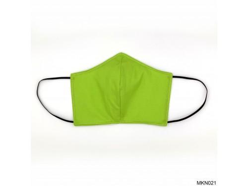 (MKN021) Szájmaszk - Neon zöld szájmaszk