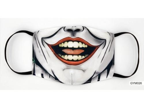 (GYM026) Szájmaszk – Joker mintás gyerek szájmaszk
