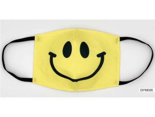 (GYM028) Szájmaszk – Smile fej mintás gyerek szájmaszk