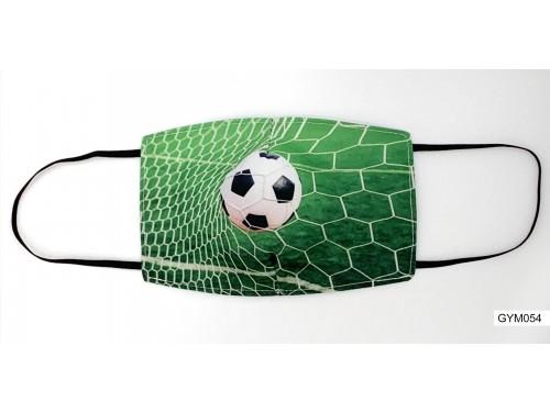 (GYM054) Szájmaszk – Foci labda mintás gyerek szájmaszk